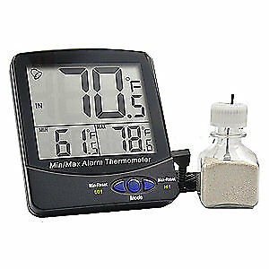Thermco Digital Thermometer 58 To 158 Degree F Acc895wb