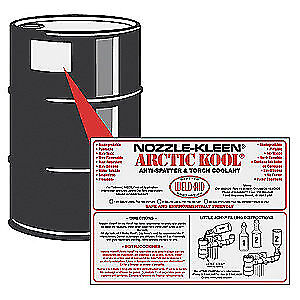 Weld Aid Water Based Anti spatter And Torch Coolant 55 Gal 007028