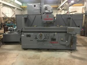 Thompson Thread Grindingsurface Grinder Model Tc Build Year 1968 with Tooling