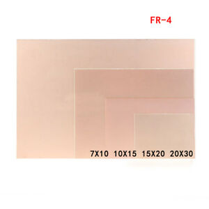 Single Sided Copper Clad Pcb Fr4 Laminate Circuit Board 7x10 10x15 15x20 20x30cm