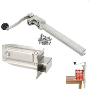 Commercial Heavy Duty Catering Tin Can Opener Large Bench Clamp Mount L U3e1