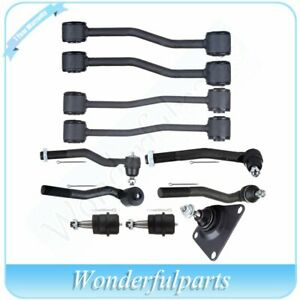 Fit Jeep Grand Cherokee 1999 2004 Ball Joint Tie Rod End Sway Bar Link 11pcs Set