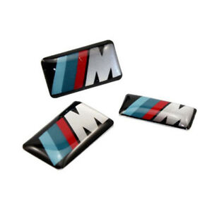 10x Self Adhesive M Tec Sport Badge Sticker Emblem Fits For Bmw M3 M5 M6 Wheel