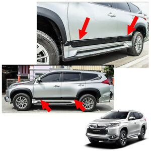 Body Cladding Side Molding Guard Fits Mitsubishi Pajero Montero Sport 16 2017