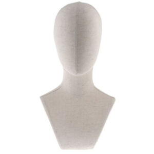 Dummy Male Mannequin Manikin Head Jewelry Wigs Glasses Hat Display Stand 4