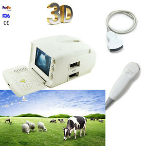 Veterinary Digital Lcd Ultrasound Scanner Convex micro convex Probe 3d Software