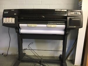 Hp Designjet 1055cm Plus Large Format Printer Plotter