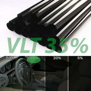 Uncut Window Tint Roll 35 Vlt 25 100 Ft Feet Home Commercial Office Auto Film