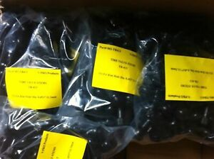 Lot 200 Tr 413 Snap In Tire Valve Stems Short Black Rubber Most Popular Valve