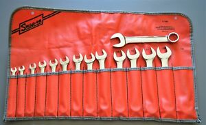 Near Mint Snap On Tools Short Metric Combination Wrench Set 6 19mm Oexsm714k