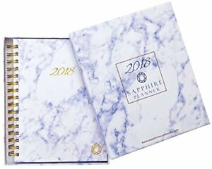 2018 Planner Monthly Weekly Daily Agenda Calendar By Sapphire Accessories