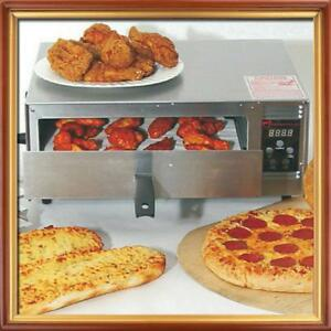 Wisco Industries Commercial Pizza Oven With Digital Controls 425c 12 Pizza Easy