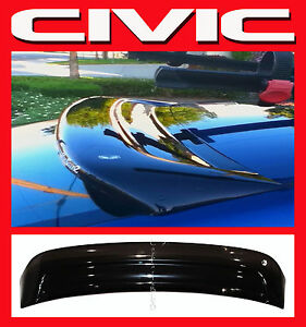 Jdm 2001 2005 Civic Coupe 2dr Em2 Rear Roof Window Visor With Stability Brackets