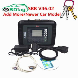 2017 Sbb V46 02 Auto Key Programmer With Multi languages Support Immobilizer