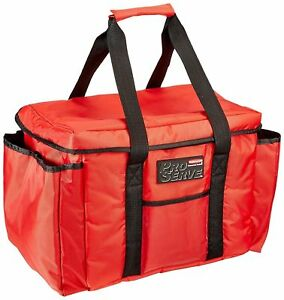 Rubbermaid Commercial Proserve Insulated Delivery Bag Red Fg9f4000red