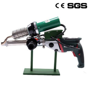Plastic Extrusion Welding Machine Hot Air Plastic Welder Gun Extruder Lst610b