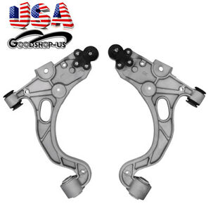 2pc Front Lower Control Arm W Ball Joint Assembly For Buick Cadillac Pontiac