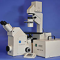 Zeiss Axiovert 135 Inverted Fluorescence Phase Contrast Microscope Sold As is