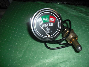 Farmall Water Temp Gauge A B H M I O W4 W6 W9 100 130