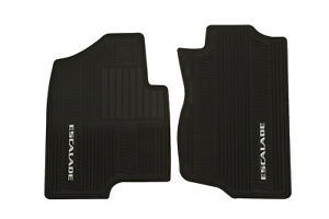 New Oem 2007 2014 Cadillac Escalade Front All Weather Floor Mats Black 17803323