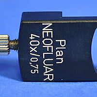 Zeiss Dic Slider 444450 For Plan Neofluar 40x 0 75 Microscope Objective