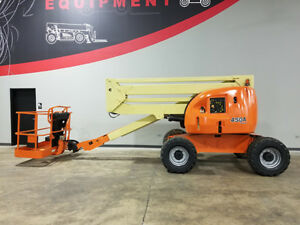 2007 Jlg 450a 500lb Pneumatic Articulating Boom Lift 4x4 Deutz Diesel Man Lift