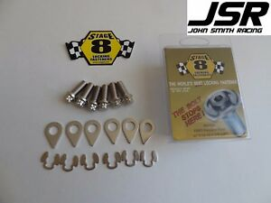 86 01 Mustang Gt 93 98 Cobra Stage 8 Locking Clutch Pressure Plate Bolt Kit