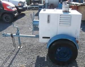 Quincy Qh 1500 Portable Hydraulic Pump With Solid State Ignition