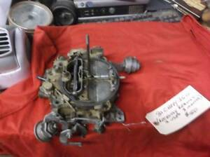 Carburetor 80 Chevy 350 Rochester Quadrajet 4 Barrel
