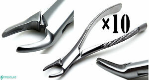 10 Forceps 150 Extracting Root Upper Dental Surgical Instruments