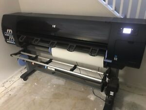 Hp 60 Designjet Large Format Printer Hp Factory Model Number Q6652z