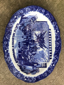 Libery Blue Antique China