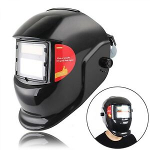 Welding Helmet Auto Darkening Electric Welder Lens Mask Solar Protective Cap New