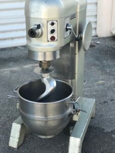Hobart Mixer H600 T With Bowl 60 Quartz And Accesories
