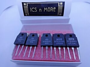 Nte 2393 N channel Mosfet qty Of 5