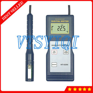 Digital Humidity Temperature Tester Meter Lcd Temperature Humidity Measuring