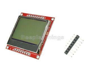 New Lcd Display Screen Modul Module F r Arduino Nokia 5110 Diy 84 48