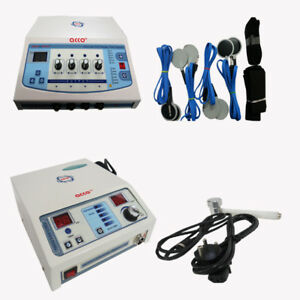 Combo Of Ultrasound Therapy Unit And Electrotherapy 4 Channel Physiotherapy