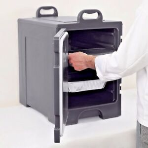 Insulated Catering Hot Cold Chafing Dish Food Pan Carrier Container Commercial