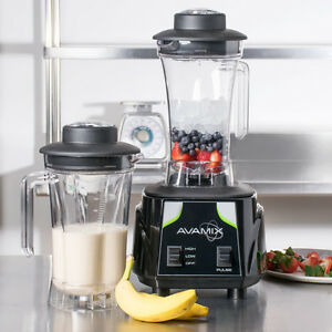 Avamix 3 1 2 Hp Commercial Blender With Toggle Control And Two 64 Oz Containers
