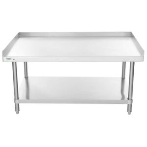 Best New 30 x 48 All Stainless Steel Work Prep Table Commercial Equipment Stand