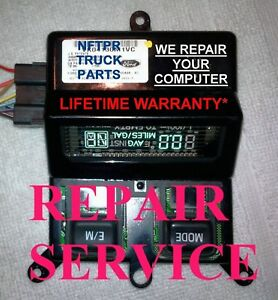 Ford F150 250 350 1998 2008 Overhead Console Temp Compass Fuel Display Repair