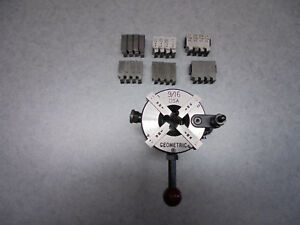 Geometric 9 16 Die Head With 5 8 Shank Set Of 7 Chasers Included
