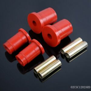 For Ford Mustang Red Polyurethane Front Lower Control Arm Bushing 94 04