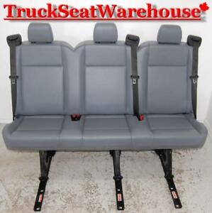 Ford Transit Van 3 Seater Bench Seat Integrated Seatbelts