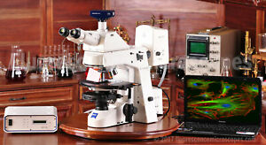 Zeiss Axioskop 2 Plus Upright Fluorescence Phase Microscope 1 Year Warranty