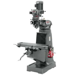 Jet 690019 Jtm 1 Mill With X axis Powerfeed