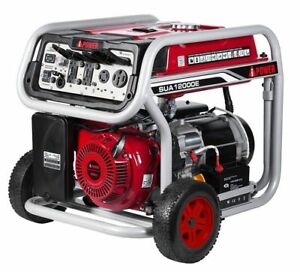Pick Up A ipower 12000w Gas Powered Portable Electric Start Generator Sua12000e