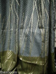 Lot Of 4 pattern L Hospital Privacy cubicle Curtains Flame Retardant