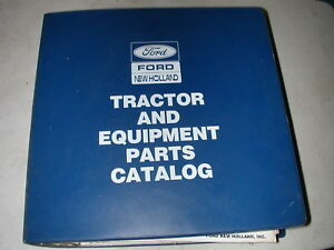 Ford New Holland Series 10 Tractors Parts Catalog Manual 5610 5900 6610 6710